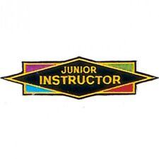 "Junior Instructor Martial Arts Patch - 5.5"""