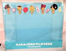 Vintage Harajuku Lovers Fragrance Sunshine Cuties Blue Ziploc Pouch -New - Rare