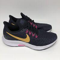 Nike Air Zoom Pegasus 35 Womens 942855-008 Gridiron Running Shoes Size 5