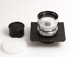 Schneider-Kreuznach Anastigmat 5,5/270 mm auf einer Toyo-View Platine