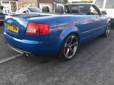Audi S4 V8 4.2  cabriolet convertible superb REDUCED FIRST COME NO OFFERS