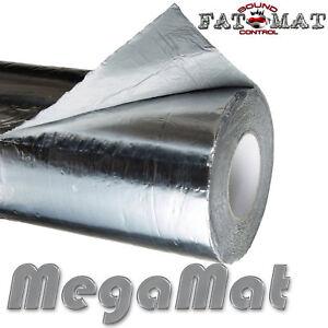 SALE! 50 sq.ft FATMAT MEGAMAT SILVER Ultimate Car/Van Sound Deadening - Dynamat