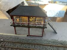 Hornby OO R9534 Barrow Hill Signal Box - Ratio Interior + Signalman Painted .