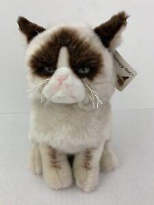 "GUND Grumpy Cat Stuffed Animal Plush ~ 9"" NWT"