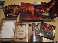 Diablo 3 III (PC, 2012) DVD, Manual Guest Pass and Notepad (no CD-KEY)