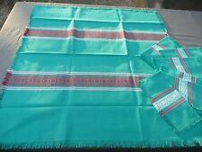 nappe + 6 serviettes basque