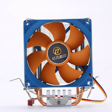 GX7 4 PIN PWM CPU Cooler Fan & Heatsink Dual Heatpipe for LGA 775 115X AMD 1366