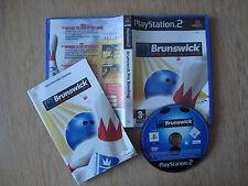 BRUNSWICK PRO BOWLING PS2-PAL