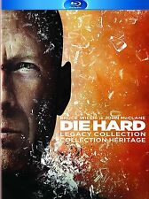 Die Hard:Legacy Collection Blu-ray 5 Movies 2 Vengeance Live Free Good Day Films