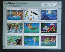Grenada 1987 Mint Sheet Disney - Peter Pan Coa