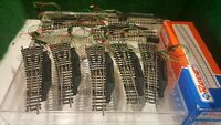 Roco échelle N 22262 lot de 8 aiguillages électrique gauche