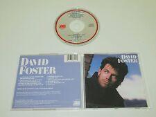 DAVID FOSTER(ATLANTIC 7 81642-2)CD ALBUM