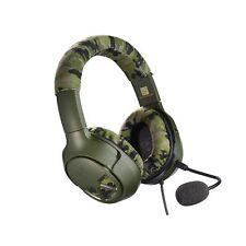 Turtle Beach Recon Camo Green Headband Headsets for Multi-Platform
