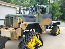 Amazing Rare Modified Duece M35A3 with Plow and Tracks!!