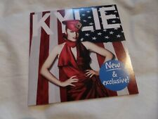 Kylie Minogue - Live In New York 5 Track New & Exclusive 2010 CD VERY RARE!