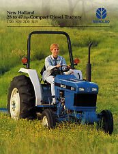 NEW HOLLAND 1720 1920 2120 3415 COMPACT  DIESEL  TRACTOR SALES BROCHURE