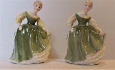 "Royal Doulton ""Fair Maiden"" figurines (2) Hn 2211"