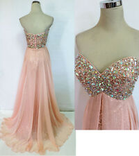 RIVA DESIGNS R9718 Blush $398 Formal Prom Ball Gown 0
