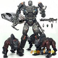 Transformed BSL-01 KO Version UT R-01 Steeljaw Lockdown Figure Toy With 3 Dogs
