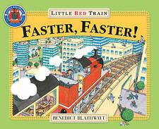 Little Red treno: più veloce, più veloce da Benedetto blathwayt (libro in brossura) NUOVO LIBRO