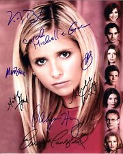 BUFFY THE VAMPIRE SLAYER CAST AUTOGRAPHED SIGNED A4 PP POSTER PHOTO 6