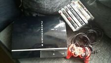 Ps3 Console, 1 Controller, 8 Games Bundle