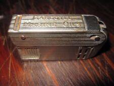 Vintage Mobil Oil Regens Cigarette Lighter Gargoyle Marine Oil