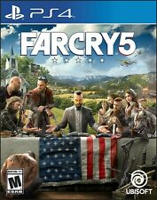 PLAYSTATION 4 PS4 - FAR CRY 5 USED BRAND NEW SEALED