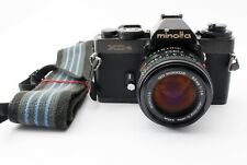 【Excellent+】Minolta XD-S SLR Film Camera MD Rokkor 50mm f1.4 from Japan