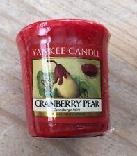 Yankee Candle Sampler Votive - CRANBERRY PEAR