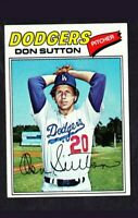 1977 Topps Don Sutton #620 Baseball Card - Los Angeles Dodgers HOF