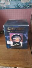 star trek collectible lighted musical star globe halodome ncc 1701-d