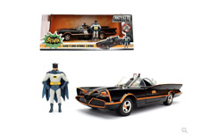 Jada Toys Adam West & Burt Ward '66 TV Series Classic Batmobile Metals Diecast
