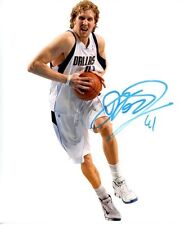 DIRK NOWITZKI signed autographed NBA DALLAS MAVERICKS photo