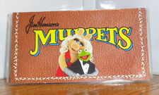 MUPPETS CHECKBOOK COVER # 2. MISS PIGGY, KERMIT DISNEY CARTOONS....FREE SHIPPING