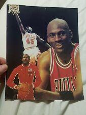 New listing Vintage Michael Jordan #45 Carnival Prize Picture Chicago Bulls NBA 90s NO FRAME