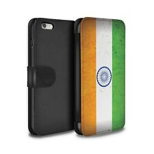 STUFF4 PU Leather Case/Cover/Wallet for Apple iPhone 6+/Plus 5.5/Asian Flag