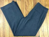 Nine West Women's Dress Pants Size 2 Actual W28 L27.5 Charcoal Gray