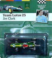 LOTUS 25 JIM CLARK #4 1:43 Scale F1 Racing Car Model Formula One