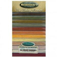 Hemingway's All Round Dubbing 1 Dubbing Box Fly Tying 12 Colours
