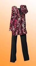 Maglie e camicie da donna rosi manica lunghi seta