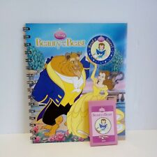 Disney Story Reader Book Beauty and the Beast, and Cartridge excellent condition