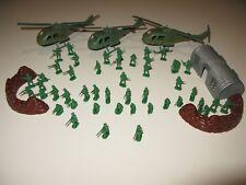"LOTTO soldatini ESCI 1/72 + elicotteri ""guerra del Vietnam"""