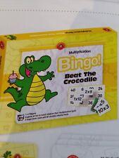 Learning Can Be Fun - Beat The Crocodile Bingo Multiplication
