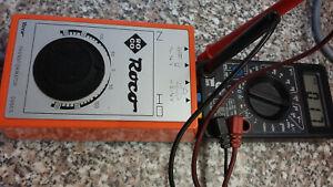 Roco  0950 S   Travo mit Feinregelung getestet siehe xxl bilder