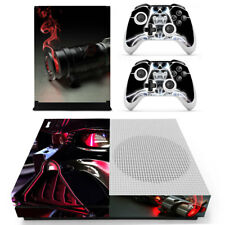Xbox ONE S SLIM Skin Sticker for Console & 2 Controllers Star Wars Darth Vader