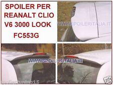 SPOILER ALETTONE POSTER RENAULT CLIO 2 CON PRIMER  V6 3000 LOOK ST323-F136P