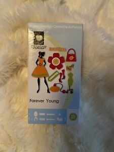 Cricut Cartridge Forever Young Dress Women Shapes Cartridge - Lightly Used