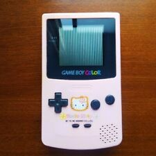 Nintendo Game Boy Color HELLO KITTY Game Console CGB-001 From Japan USED F/D [K]