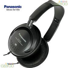 Panasonic Dj Estilo Volumen Control Monitor Cascos auriculares - Negro, rp-ht225